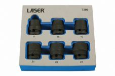 "LASER 7200 Damaged Nut/Bolt Remover Tools 1/2""D"